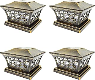 Best 4 x 4 solar post cap lights Reviews
