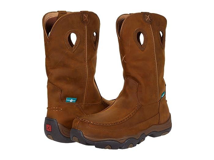 Twisted X  MHKBCW1 (Distressed Saddle/Saddle) Mens Shoes
