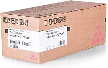 Cartucho original Ricoh c310he/Ricoh Aficio SP C 310/406481–Toner Magenta para 6.000páginas–1pieza