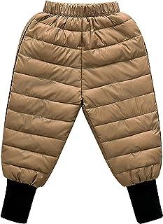 Pantalones para NiñOs OtoñO Invierno NiñOs Abajo AlgodóN Leggings para NiñAs PequeñAs Pantalones CáLidos para NiñOs A Prue...