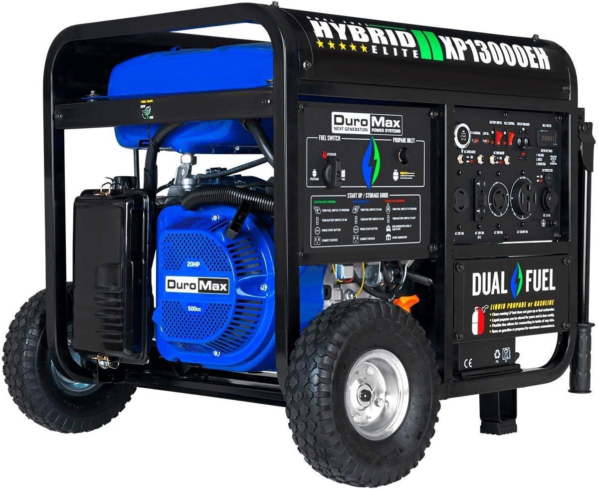 Duromax XP13000EH Dual Fuel 13000 price Watt G Cheap SALE Start Electric Portable