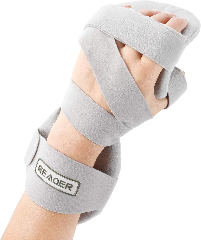 REAQER Stroke Hand 1 year warranty Splint Soft Resting Ranking TOP11 Dysfunctions Immobil