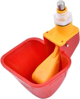 Rugged Ranch Products High End Hen Poultry Drinker with Yellow Float