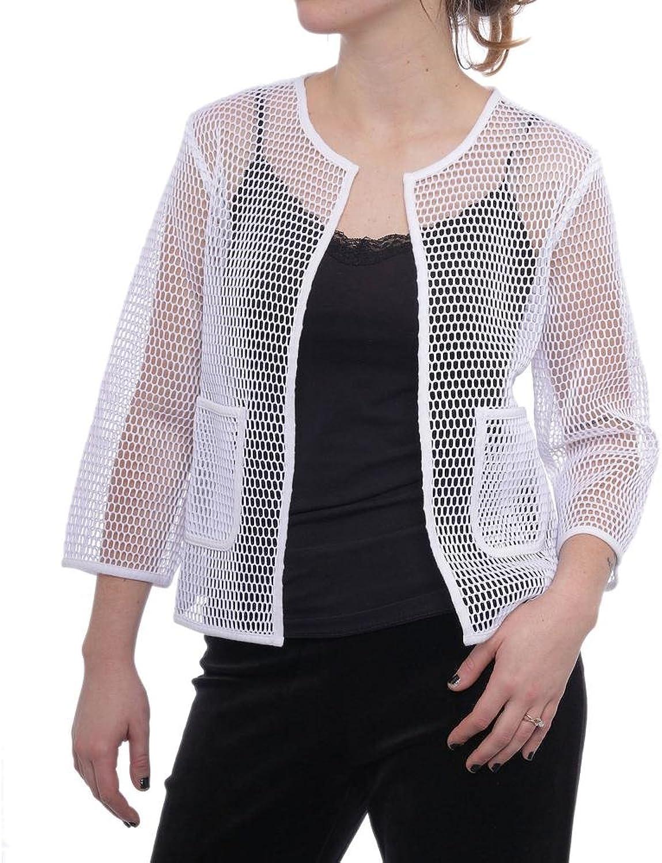 Alfani Women's OpenFront Mesh Jacket