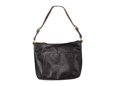 Hobo Charlie (Black Matte Vintage Hide) Handbags