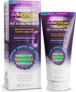 muscle pain relief by InMotion Hemp