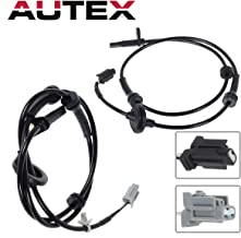 AUTEX 4pcs ABS Wheel Speed Sensor 47900-7Y000 ALS346 compatible with Nissan Maxima 2004 2005 2006 2007 2008 3.5L(Rear Front)