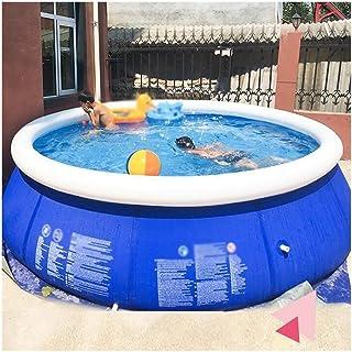 HLZY Piscina Infantil Familiar Golpe Interacción Redonda con Piscina Family Fiesta del Agua Verano Jardín Juego 457x122 Cm