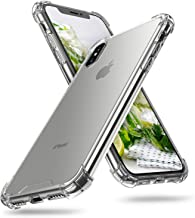 ORIbox iPhone X Case & iPhone Xs Case Clear, with 4 Corners Shockproof Protection, Soft Scratch-Resistant TPU Cover Case f...
