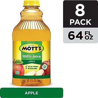 Mott's 100% Original Apple Juice, 64 Fluid Ounce Bottle (Pack of 8)