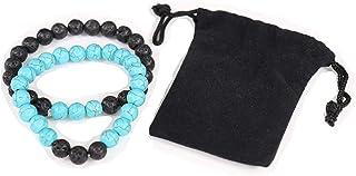 Yoga is Lyfe - Anxiety Bracelets Chakra Bracelets Aromatherapy Bracelet Lava Rock Stone Reiki Meditation Healing Bead Brac...