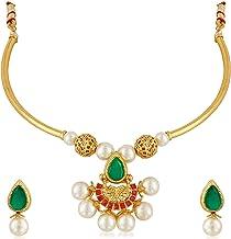 Apara Choker Necklace Jewellery Set for Girls/Women
