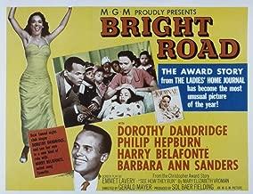 Posterazzi Bright Road Dorothy Dandridge Harry Belafonte 1953 Movie Masterprint Poster Print (14 x 11)