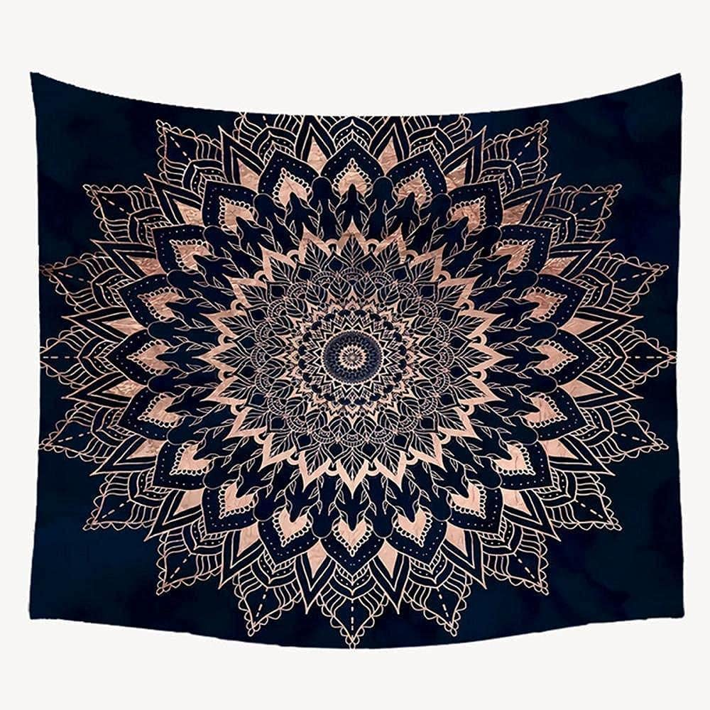QDEI Bohemian Our shop OFFers the best service Mandala Tapestry Wall Hanging Tarot Easy-to-use Moon Star and