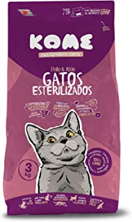KOME Pienso Natural para Gatos esterilizados con Pollo y At
