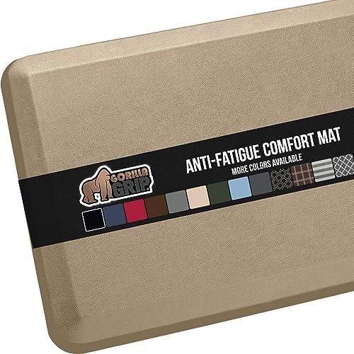 GORILLA GRIP Original Premium Anti Fatigue Comfort Mat, Phthalate Free, Ergonomically Engineered, Extra Support and T...