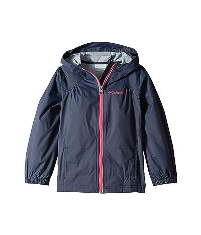 Columbia Kids Switchbacktm Rain Jacket (Little Kids/Big Kids) (Nocturnal/Wild Geranium) Girl