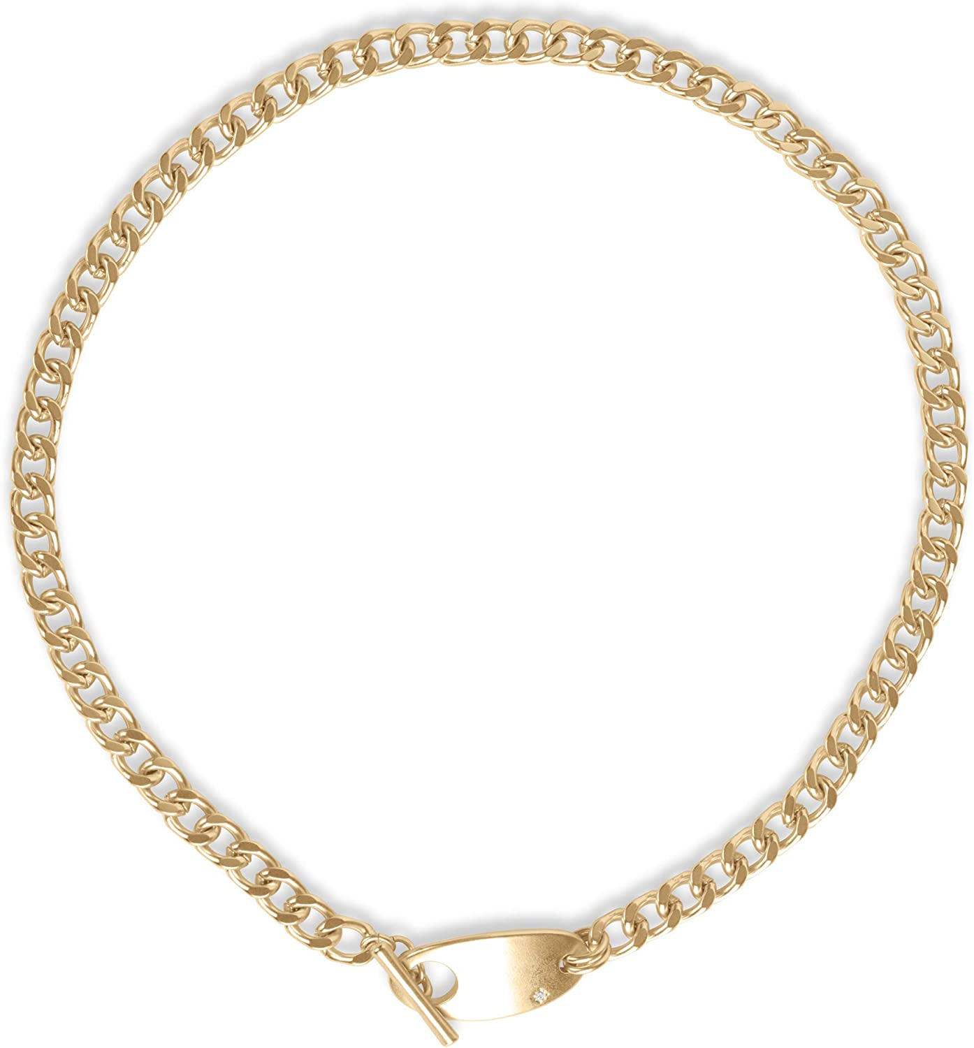 Lucky Brand Toggle Chain Necklace, Gold