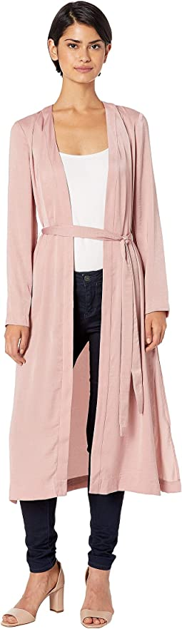 Robe Woven Long Jacket