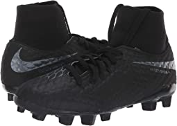 Jr. Hypervenom Phantom 3 Academy Dynamic Fit FG Soccer (Little Kid/Big Kid)