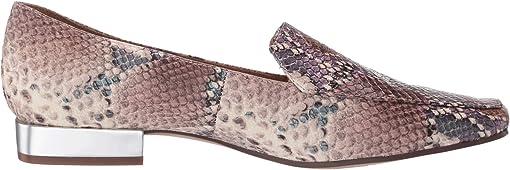 Pastel Multi Snake Print Leather