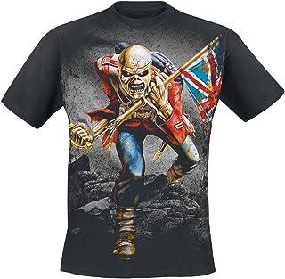 TheTrooper Hombre Camiseta Negro, [Effekte/Besonderheiten] + Regular