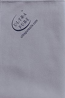 UltraPure UPO-CLOTH-GREY Extra-Large Microfiber Polishing Cloth, Dark Grey