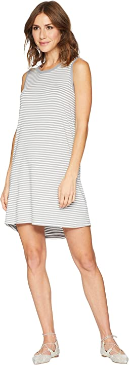 Stripe Short Tank Top Dress