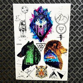 Tijdelijke tattoo mannen en vrouwen tattoo met masker zwarte arm body art waterdicht nieuw design-GLZ410