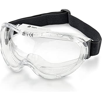 Neiko® 53875B Anti-Fog Safety Goggles with Wide-Vision | ANSI Z87.1 Approved