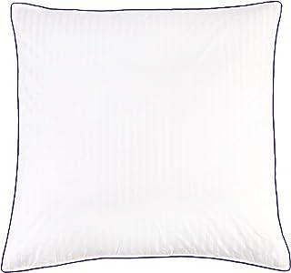 Meisterhome Daunen Kopfkissen 90% Daunen 10% Federn Baumwolle, Maße:80 x 80 cm Premium