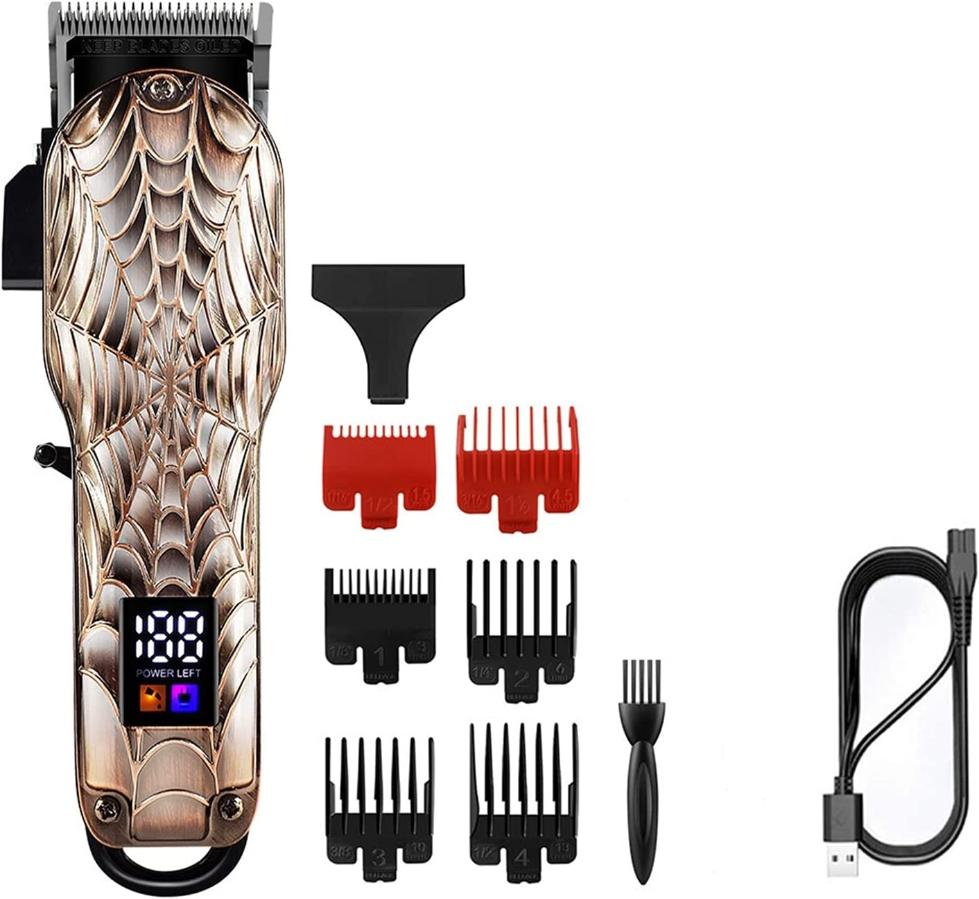 Wuleldsd Direct store Hair Clippers Professional Max 86% OFF Electric Mm Clipper B 0