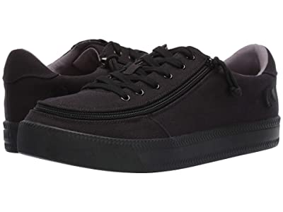 BILLY Footwear Classic Lace Low Canvas (Black to The Floor) Men