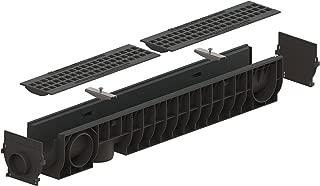 Standartpark - 4 inch trench drain cast iron package mesh - 6.2
