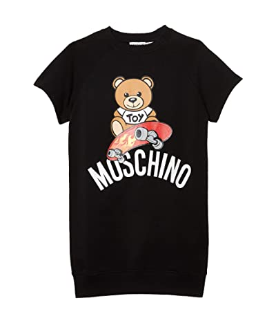 Moschino Kids Toy Dress (Little Kids/Big Kids) (Black) Girl