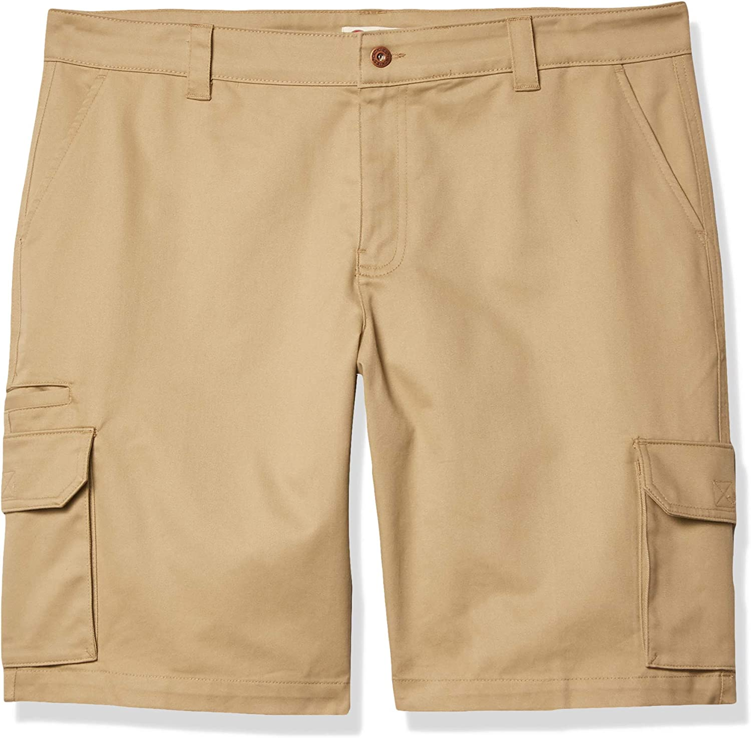 """Dickies Women's Plus Sized Stretch Cargo 11"""" Relaxed Short"""