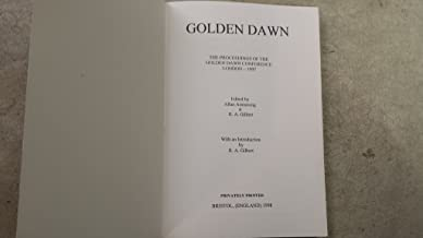 Golden Dawn Conference (signed)