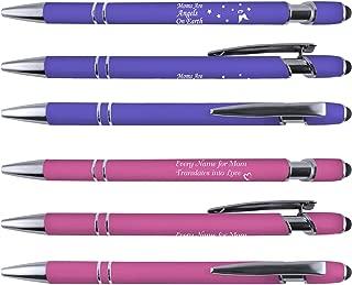 Greeting Pen Mom Comfort Feel Stylus Metal Pen Duo - 6 Pack (6080)