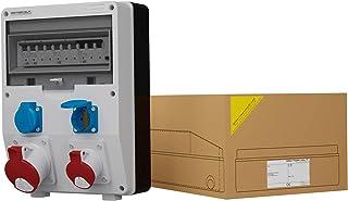 Stromverteiler DV TD-S/FI 1x32A 1x16A 2x230V IP54 Wandverteiler Baustromverteiler Doktorvolt 1776