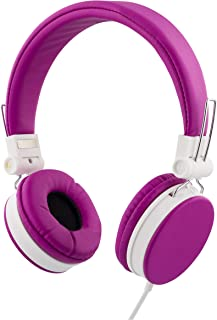 STREETZ 1,5 m headset med mikrofon för smartphone – rosa