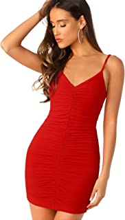 Best backless ruched dress Reviews