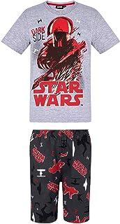 655d309b1b931 STAR WARS Pyjama Court Enfant garçon Gris de 6 à 12ans