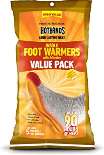 HeatMax Hothands Insole Foot Warmer Super Size Value Pack-10 pairs