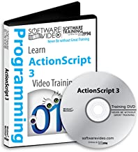 ADOBE ACTIONSCRIPT 3 Training DVD Sale 60% Off training video tutorials DVD Over 6 Hours of Video Training
