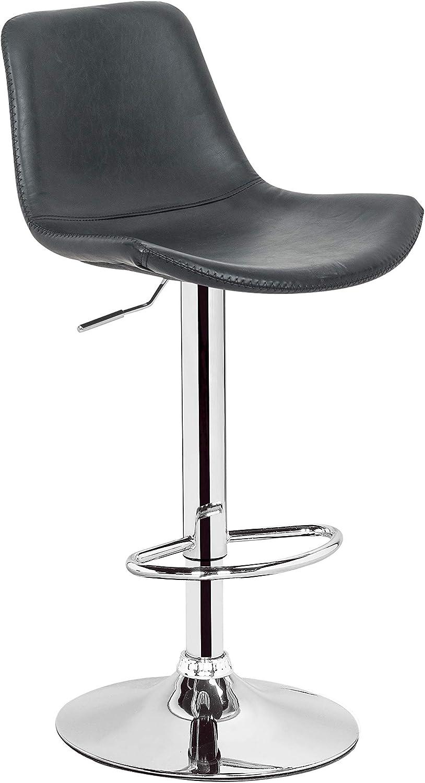 Take Me Home Furniture Boomer Stool in Black