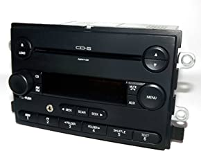 1 Factory Radio AM FM 6 Disc mp3 CD Radio w Aux Input Compatible with Ford Freestyle 2006-07 6F9T-18C815-AC (Renewed)