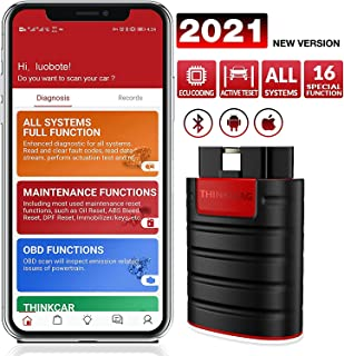 Thinkcar Thinkdiag (Easydiag 4.0) OBD2 Full System Power than X431 Easydiag 3.0 Diagnostic Tool With All Software Free for...