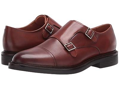 Polo Ralph Lauren Asher Double Monk Strap (Snuff Calf Leather) Men