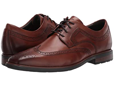 Rockport DresSports Business 2 Wing (Cognac Antique) Men