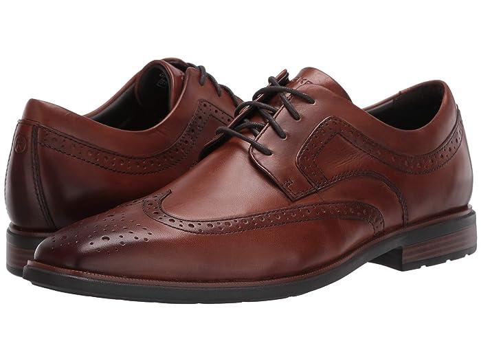 Rockport  DresSports Business 2 Wing (Cognac Antique) Mens Shoes